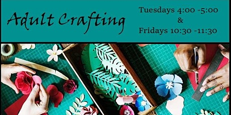 PWML:  Adult Crafting tickets