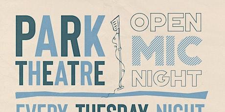 Open Mic-VOTER REGISTRATION!!! @ Park Theatre tickets