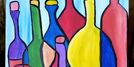 Abstract Wine Bottles @SIP tickets
