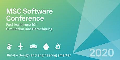 MSC Conference 2020 - Fachkonferenz für Simulation und Berechnung tickets
