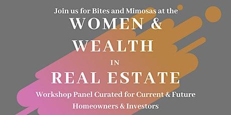 Women & Wealth in Real Estate - Workshop, Panel & Networking  w Lite Fare tickets