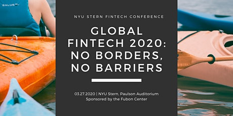 NYU Stern FinTech Conference 2020 tickets