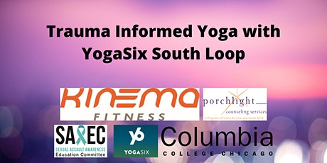 Trauma Informed Yoga with YogaSix South Loop tickets