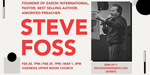 Steve Foss @ Genesis Upper Room Church