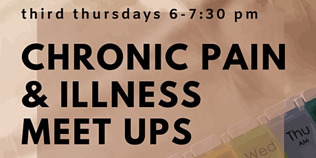 Indy Chronic Pain & Illness Meetup tickets