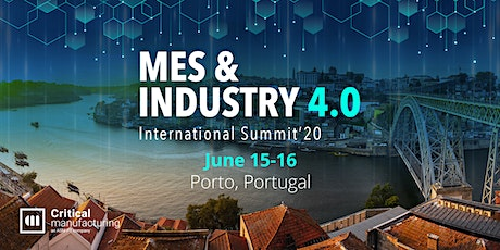 MES & INDUSTRY 4.0 INTERNATIONAL SUMMIT 2020 bilhetes