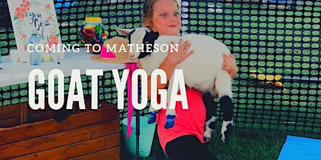 Matheson Goat Yoga tickets