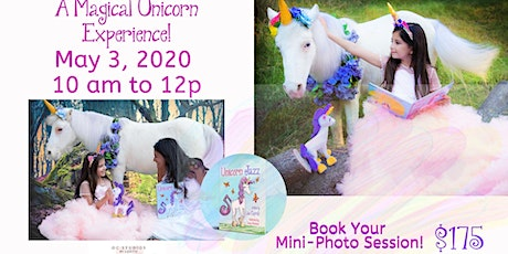 Unicorn Celebration Mini Photoshoot Special Guest Unicorn Jazz tickets
