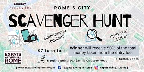 Rome's City Scavenger Hunt | 50/50 Prize biglietti