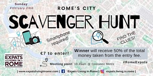 Rome's City Scavenger Hunt | 50/50 Prize
