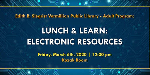 Lunch & Learn: Electronic Resources