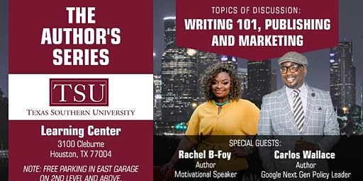 The Author's Series w/ Special Guests: Carlos Wallace & Rachel B-Foy