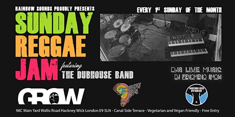 SUNDAY REGGAE JAM // LIVE MUSIC & DJS // FREE ENTRY tickets