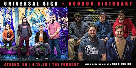 Universal Sigh & Voodoo Visionary with special guests Sono Lumini tickets