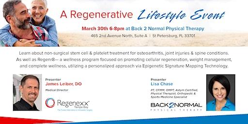 Regenerative Lifestyle Event