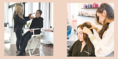 Extension Bar & Jaclyn Taylor Cosmetics presents Get up and Glow hair & makeup workshop