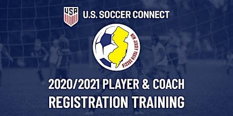 Connect Roadshow - 2020/2021 Player & Coach Registration  (West Orange) tickets
