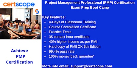 Project Management Professional (PMP) Certification  in  Cincinnati tickets