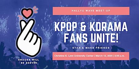 Hallyu Wave Meet-Up: Kpop & KDrama  Fans Unite! tickets