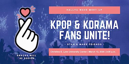 Hallyu Wave Meet-Up: Kpop & KDrama  Fans Unite!