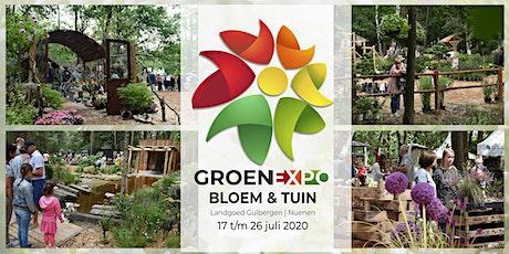 Groenexpo Bloem & Tuin 2020, het groen evenement voor jong en oud Tickets
