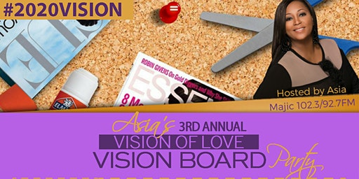 Asia's 3rd Annual Vision Board Party