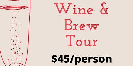 Wine & Brew Tour tickets