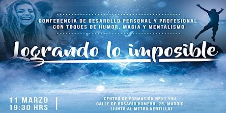 Conferencia desarrollo personal y profesional entradas