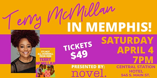 Novel Presents An Evening with Terry McMillan