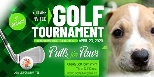 Putts for Paws • Benefitting The Little Red Dog