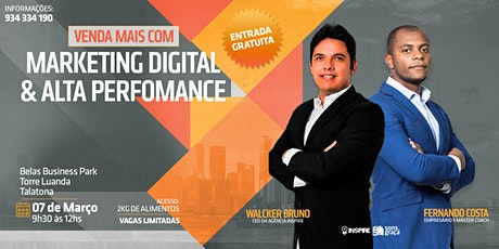 Palestra: Venda Mais com Marketing Digital e Alta Performance bilhetes