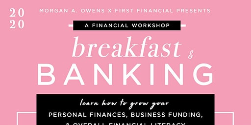 Breakfast and Banking with First Financial Bank