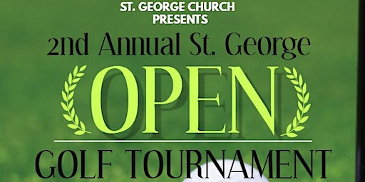 2nd Annual St. George Open Golf Tournament
