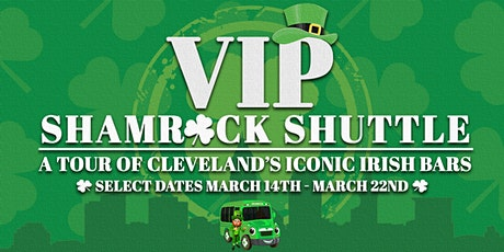VIP Shamrock Shuttle l St. Patrick's Party Bus Bar Crawl l Cleveland, Ohio tickets