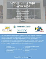 Pulaski Opportunity Zone Workshop