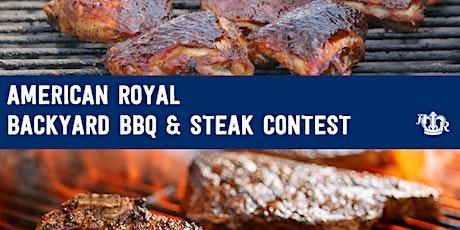American Royal Backyard BBQ & Steak Contest tickets