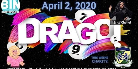 Drago April 2nd- Benefiting Charlotte Royals RFC tickets
