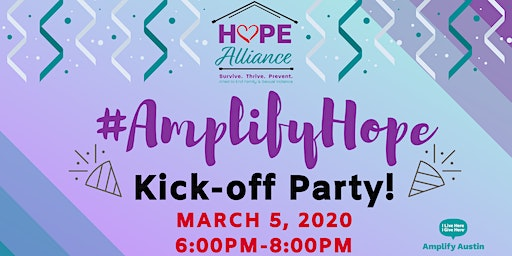 Amplify Hope Kick-Off Party!