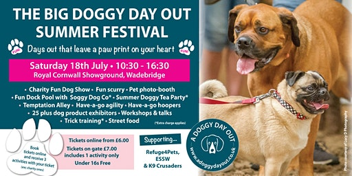 The Big Doggy Day Out Summer Festival