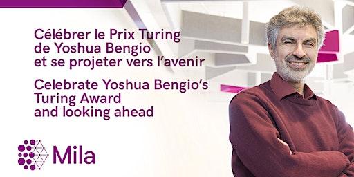 Yoshua Bengio event (Provincial tax adjustment)