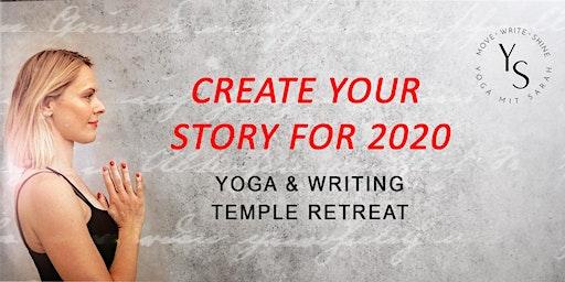WRITING TEMPLE RETREAT | Yoga & Journalling | Urban Edition