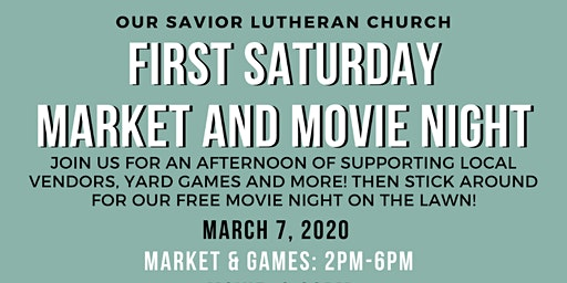 First Saturday Market and Movie Night