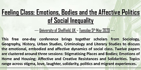 Feeling Class: Emotions, Bodies and the Affective Politics tickets