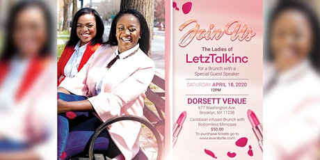 Brunch with the Ladies of LetzTalkinc tickets