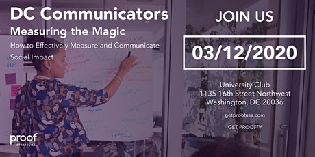 Measuring the Magic: How to Effectively Measure & Communicate Social Impact tickets
