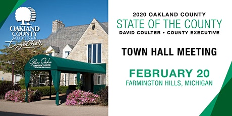 State of the County Town Hall Meeting tickets