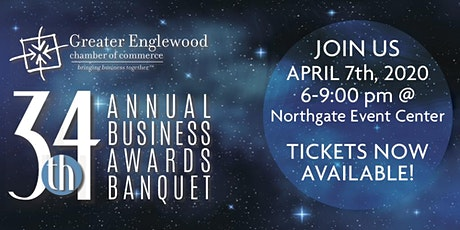 34th Annual Business Awards Banquet tickets