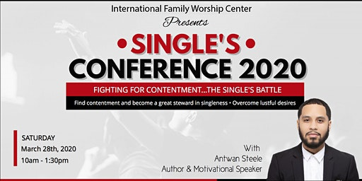 Single's Conference 2020 with Antwan Steele