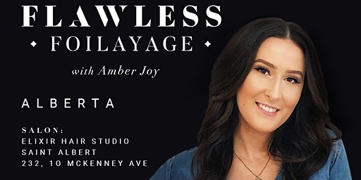 ALBERTA / FLAWLESS FOILAYAGE with AMBER JOY