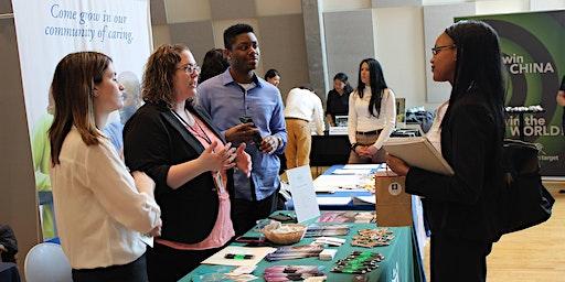 The Academic Exploration Program's Enhanced Career and Internship Fair